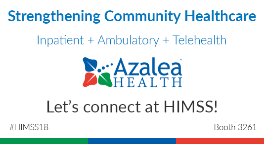 Connect with Azalea Health at HIMSS!